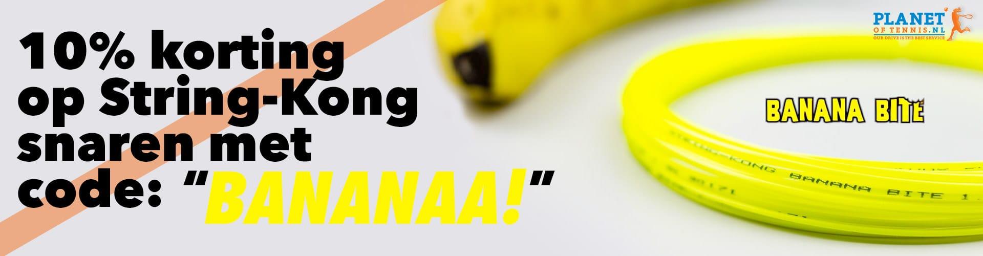 Planetoftennis.nl - 10% korting op String-Kong snaren